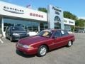 Ruby Red Metallic 1996 Buick Skylark Custom Sedan