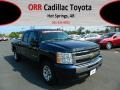 2011 Imperial Blue Metallic Chevrolet Silverado 1500 LS Extended Cab  photo #1
