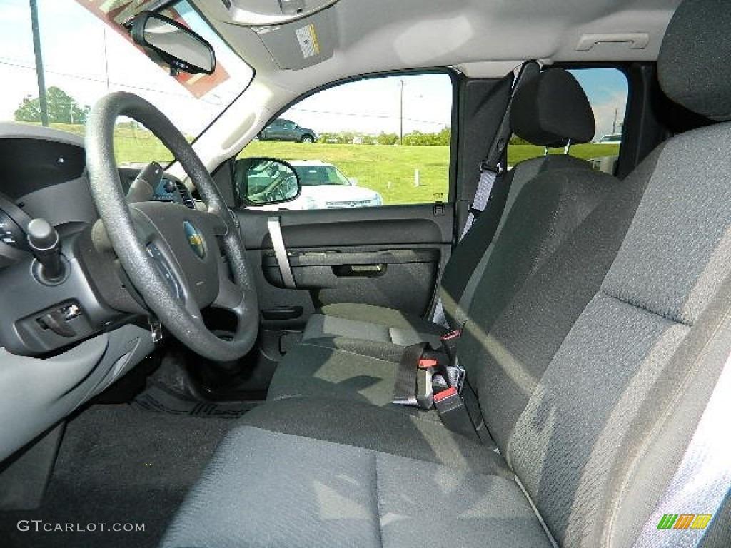 2011 Silverado 1500 LS Extended Cab - Imperial Blue Metallic / Dark Titanium photo #11