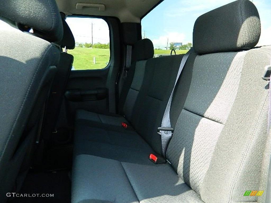 2011 Silverado 1500 LS Extended Cab - Imperial Blue Metallic / Dark Titanium photo #12