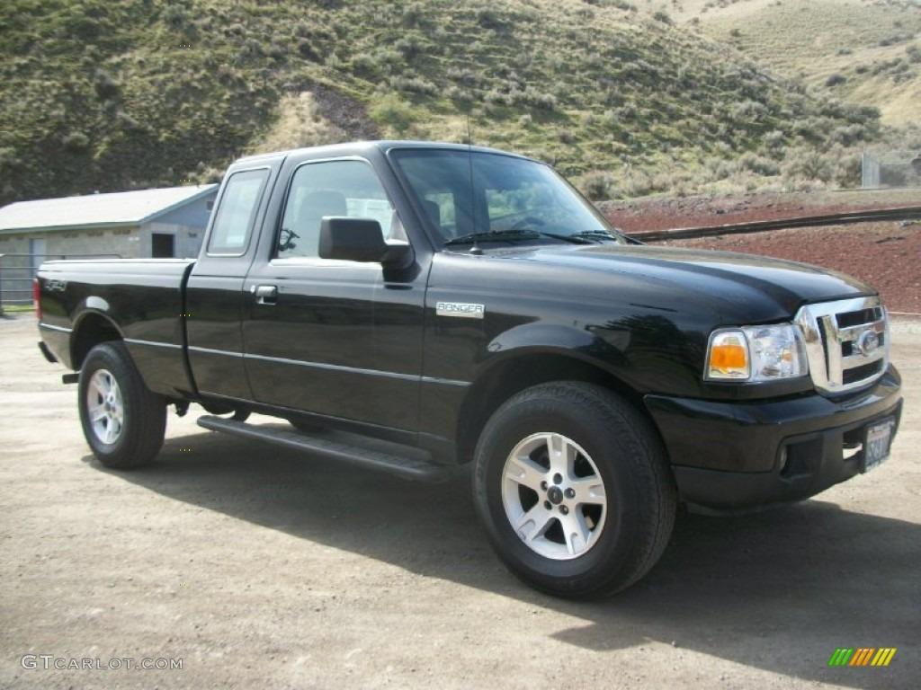 Black 2006 ford ranger xlt supercab 4x4 exterior photo 67785123
