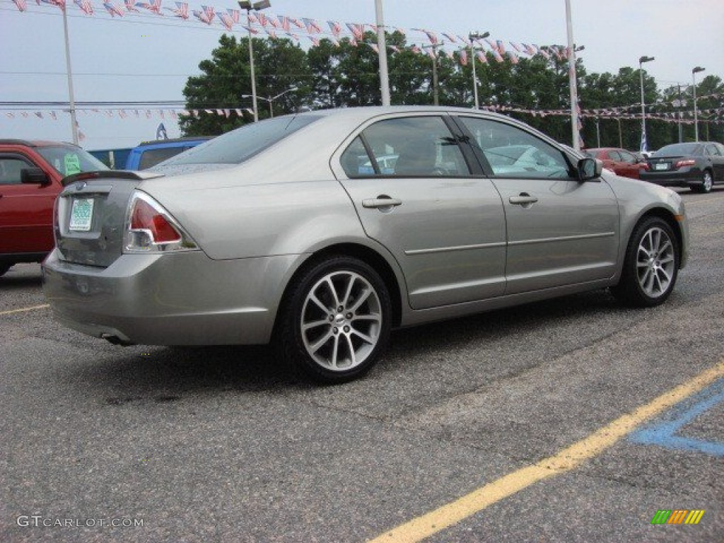 vapor silver metallic 2009 ford fusion se sport exterior. Black Bedroom Furniture Sets. Home Design Ideas
