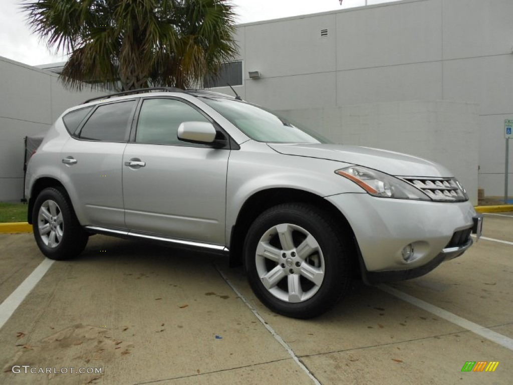 2007 Murano SL - Brilliant Silver Metallic / Charcoal photo #1