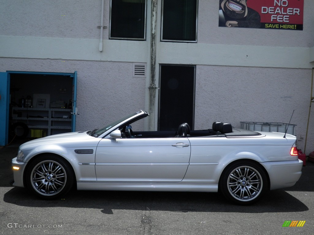 Anium Silver Metallic Bmw M3 Convertible