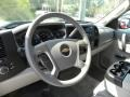 2012 Blue Granite Metallic Chevrolet Silverado 1500 LT Crew Cab  photo #3