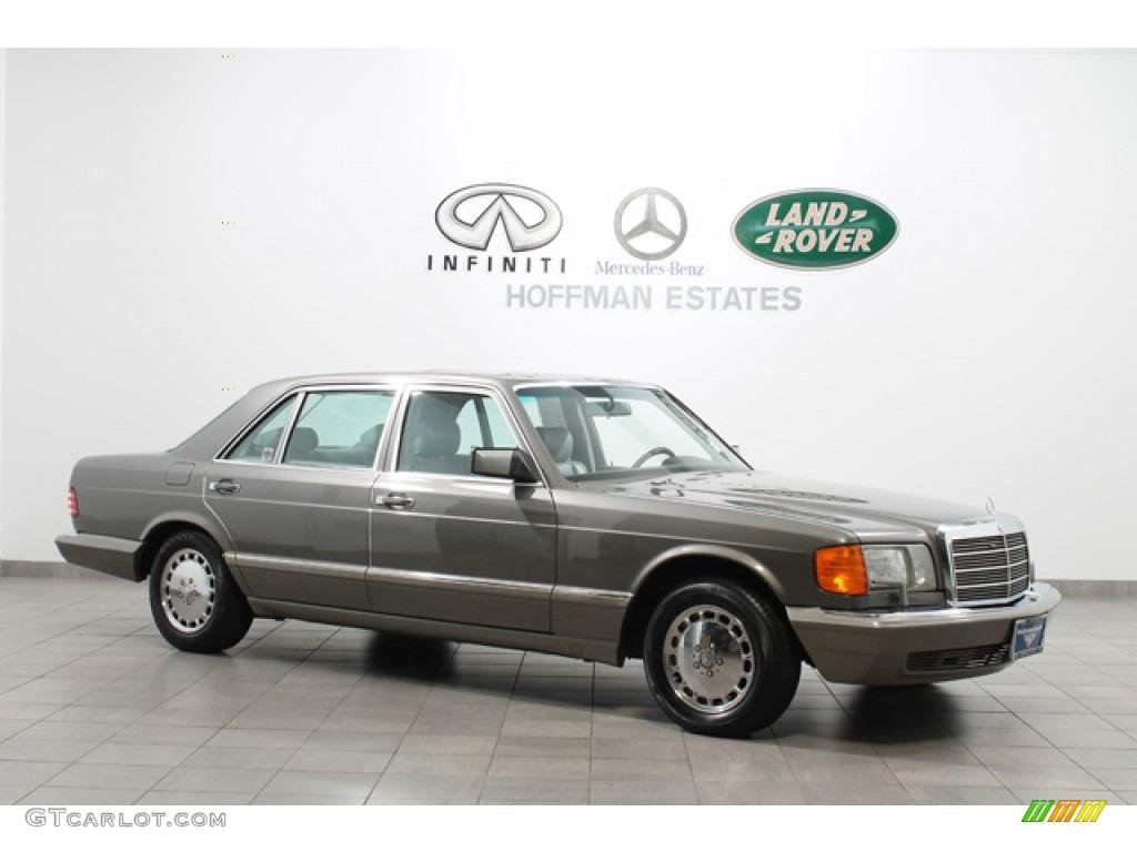 1991 pearl grey metallic mercedes benz s class 560 sel for Mercedes benz s class colours