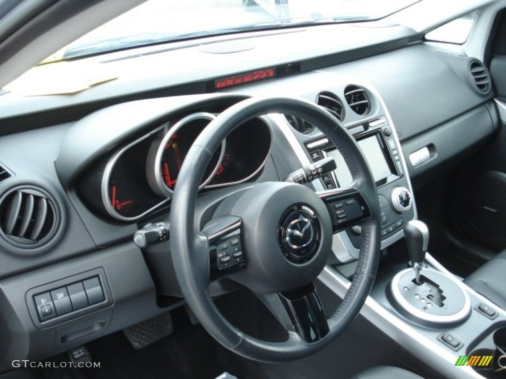 Black Interior 2007 Mazda Cx 7 Grand Touring Photo