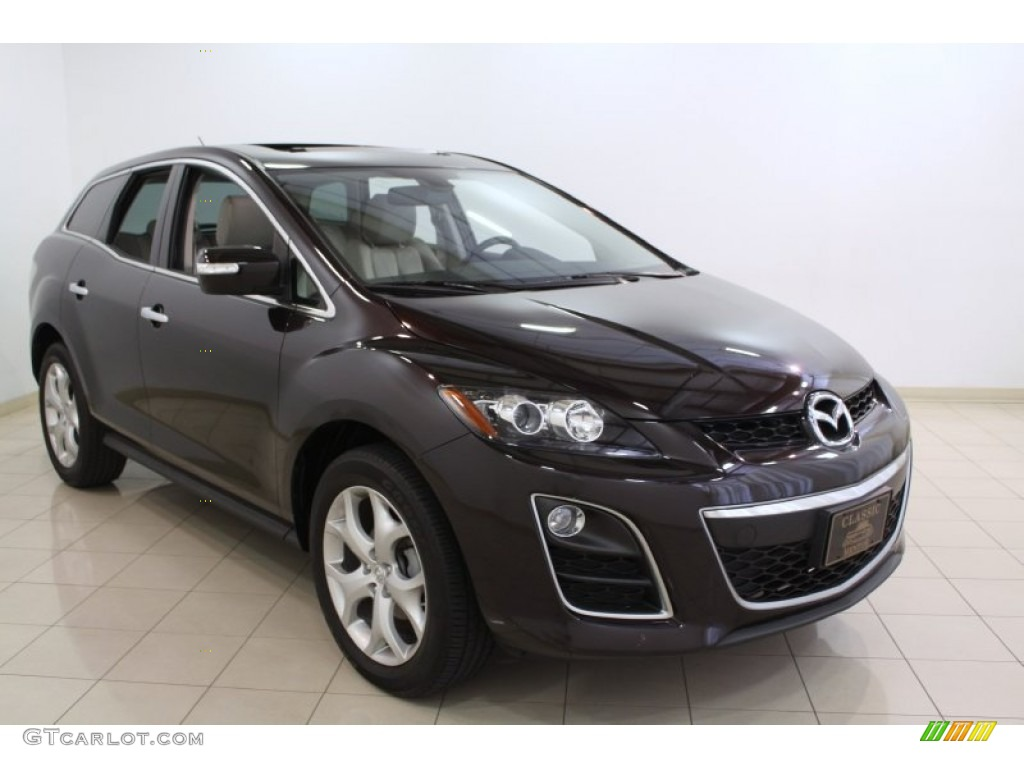 2010 Black Cherry Mica Mazda Cx 7 S Grand Touring Awd 67745596 Gtcarlot Com Car Color Galleries