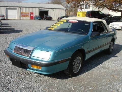 1994 Chrysler Lebaron Convertible. Chrysler LeBaron 1992 Data,