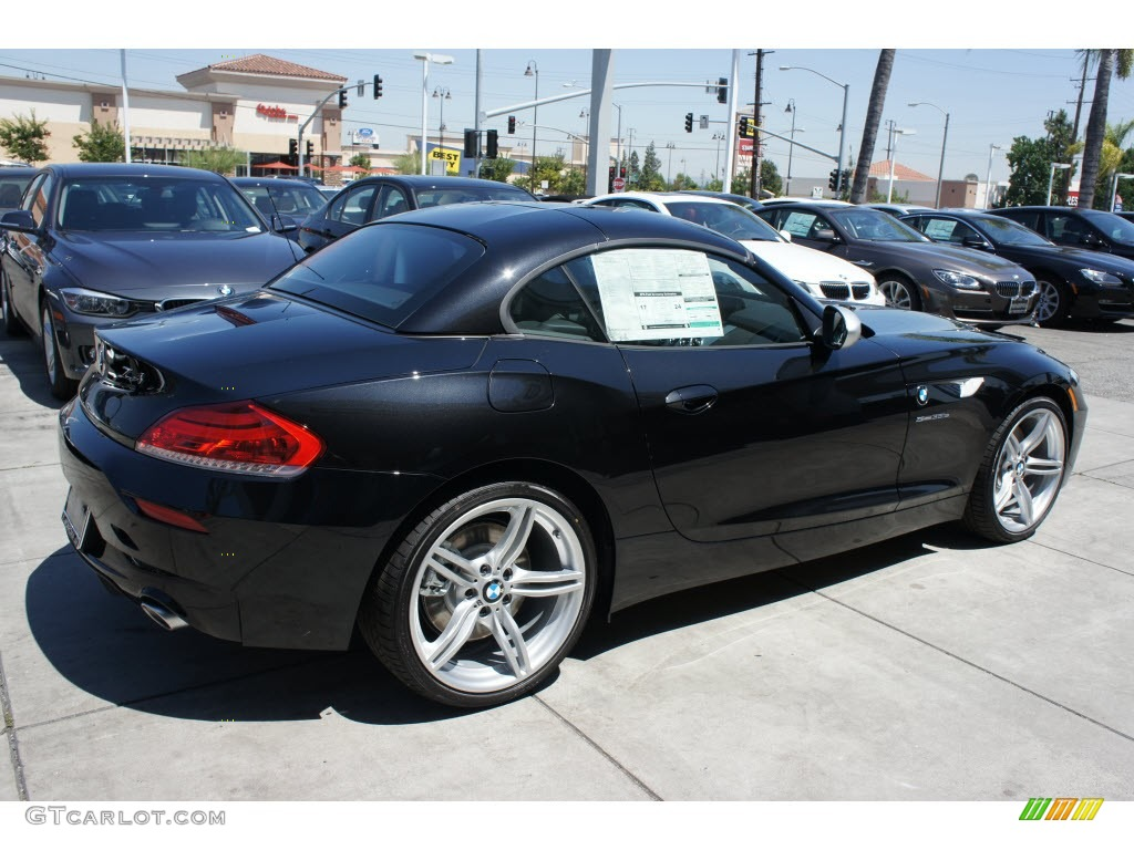 Black Sapphire Metallic 2012 Bmw Z4 Sdrive35is Exterior