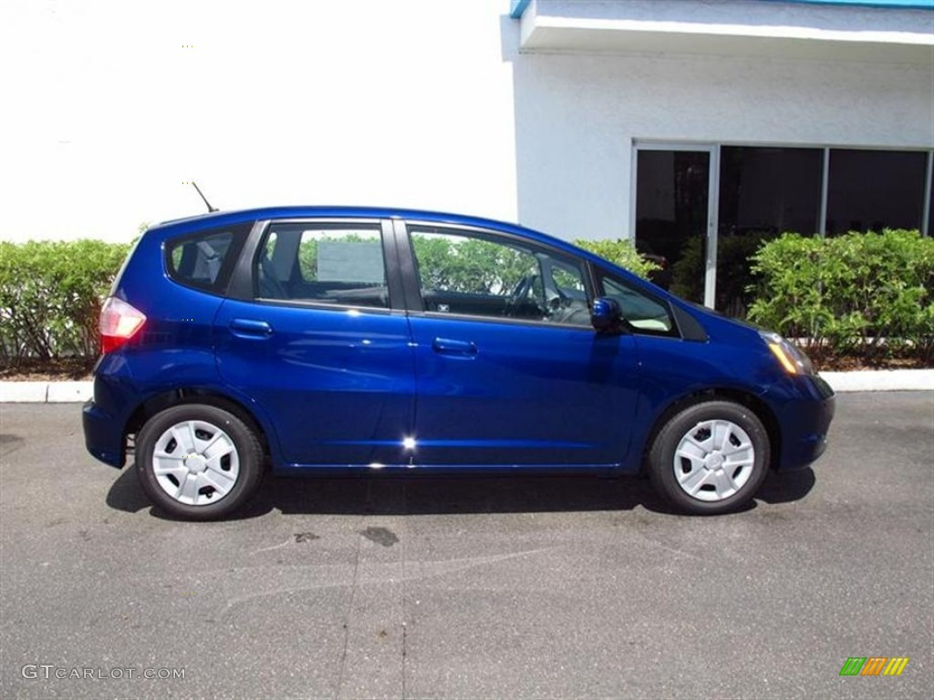 vortex blue pearl 2012 honda fit standard fit model