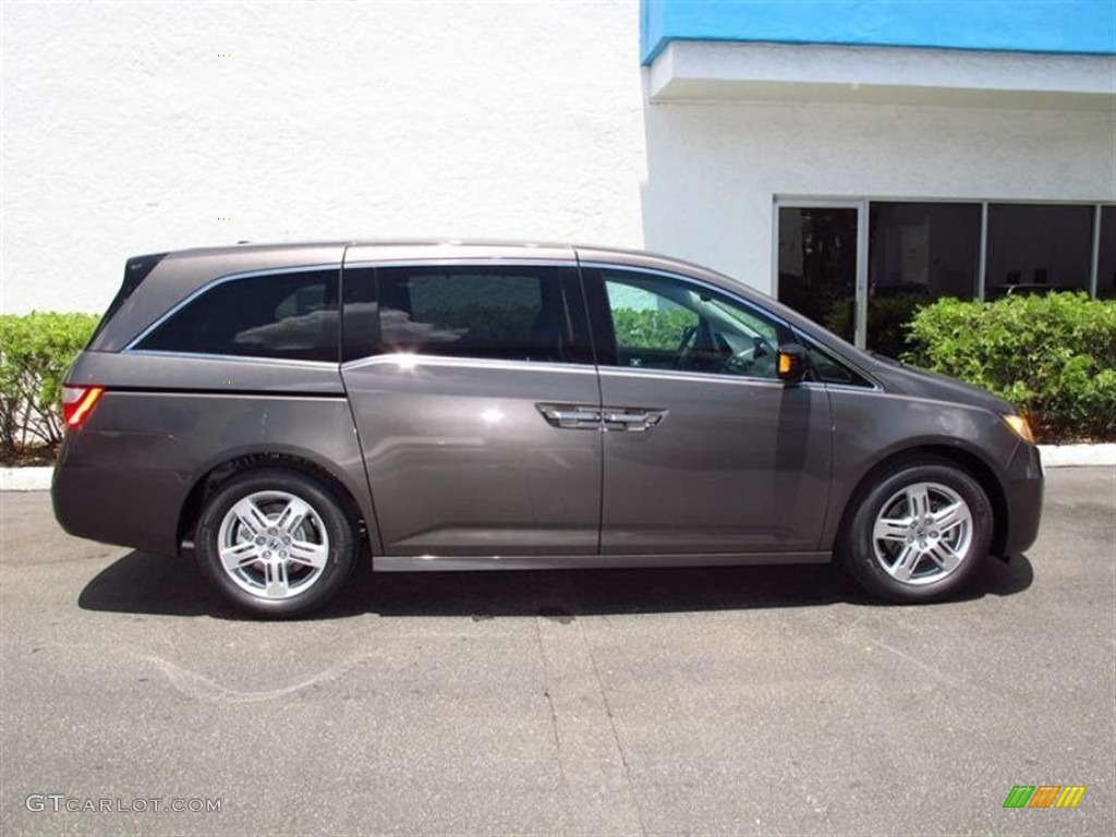 smoky topaz metallic 2012 honda odyssey touring elite exterior photo 67805757. Black Bedroom Furniture Sets. Home Design Ideas