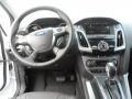 2012 White Platinum Tricoat Metallic Ford Focus Titanium 5-Door  photo #28
