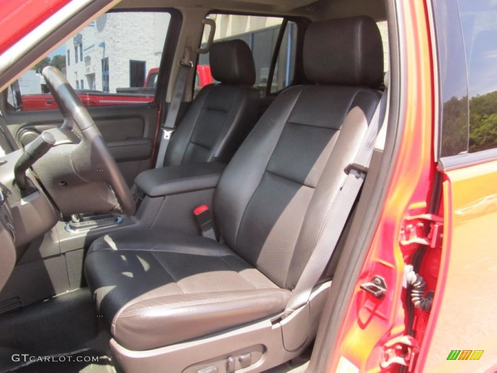 Dark Charcoal Interior 2008 Ford Explorer Sport Trac Adrenalin 4x4 Photo 67817577