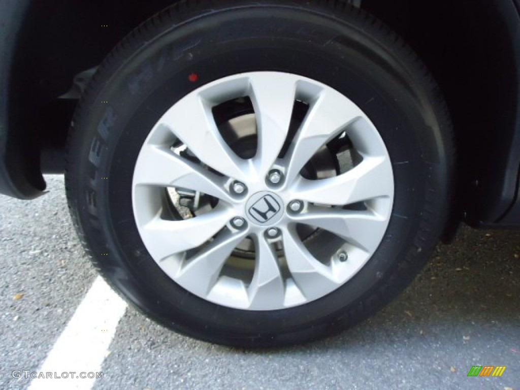 2012 CR-V EX 4WD - Alabaster Silver Metallic / Black photo #9