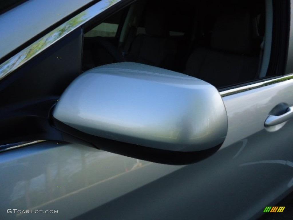 2012 CR-V EX 4WD - Alabaster Silver Metallic / Black photo #11