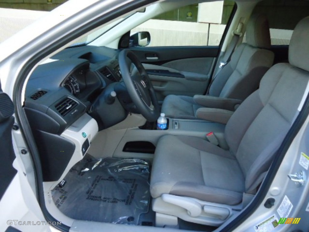 2012 CR-V EX 4WD - Alabaster Silver Metallic / Black photo #14