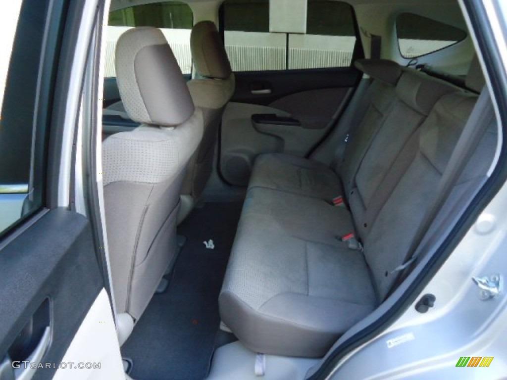 2012 CR-V EX 4WD - Alabaster Silver Metallic / Black photo #15