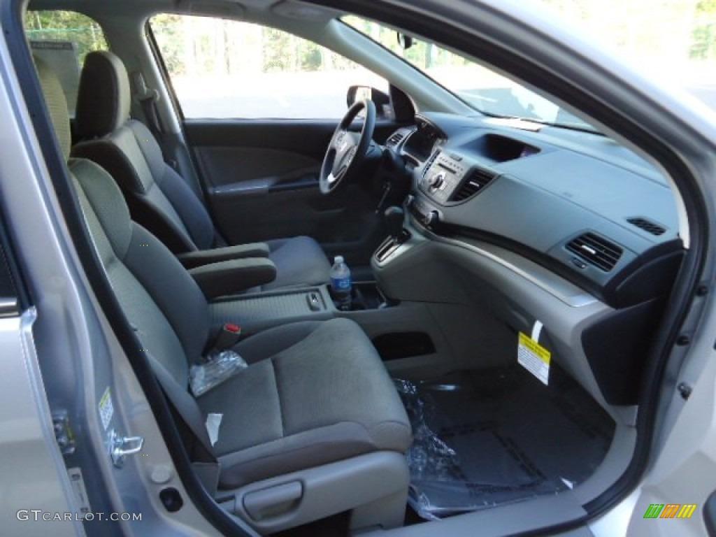 2012 CR-V EX 4WD - Alabaster Silver Metallic / Black photo #18