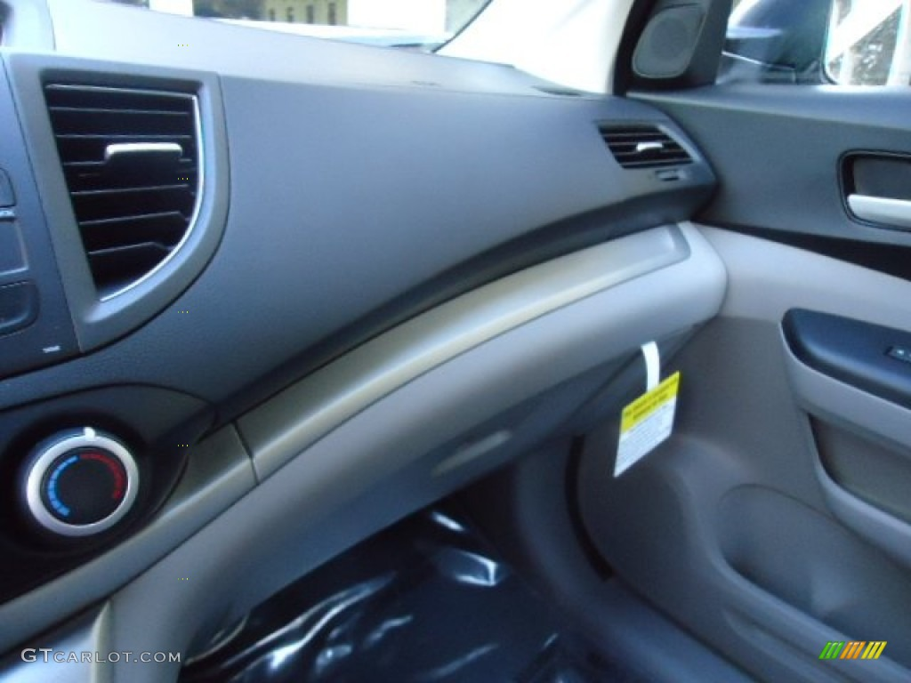 2012 CR-V EX 4WD - Alabaster Silver Metallic / Black photo #33