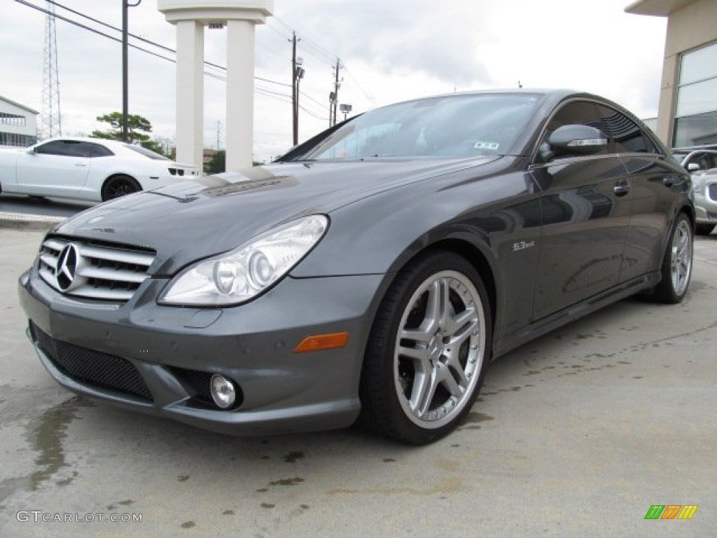 Designo graphite metallic 2007 mercedes benz cls 63 amg for 2007 mercedes benz cls
