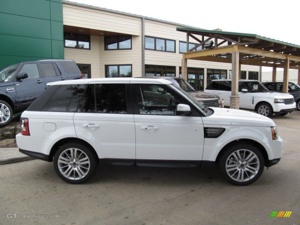 fuji white 2013 land rover range rover sport hse exterior photo 67829001. Black Bedroom Furniture Sets. Home Design Ideas