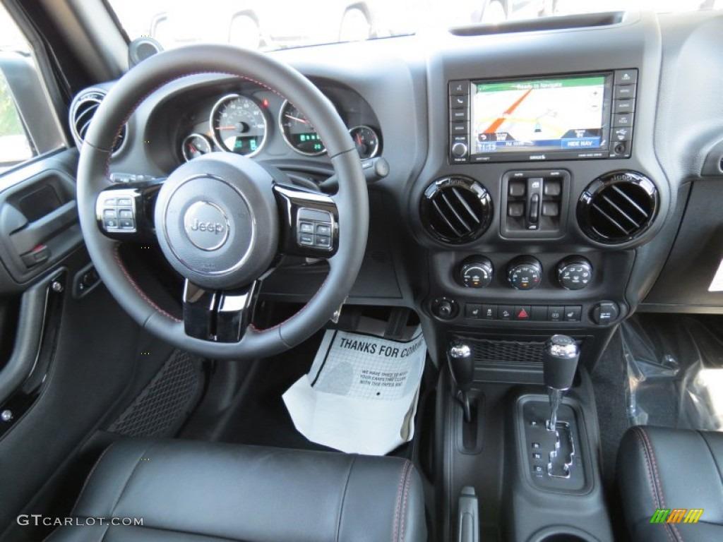 2012 jeep wrangler unlimited sahara 4x4 black dashboard - 2012 jeep wrangler unlimited interior ...