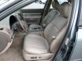 2004 Lincoln LS Dark Stone/Medium Light Stone Interior Front Seat Photo