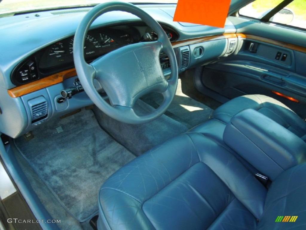 Blue Interior 1996 Oldsmobile Eighty Eight Ls Photo
