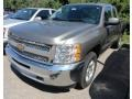 2012 Graystone Metallic Chevrolet Silverado 1500 LT Extended Cab 4x4  photo #1
