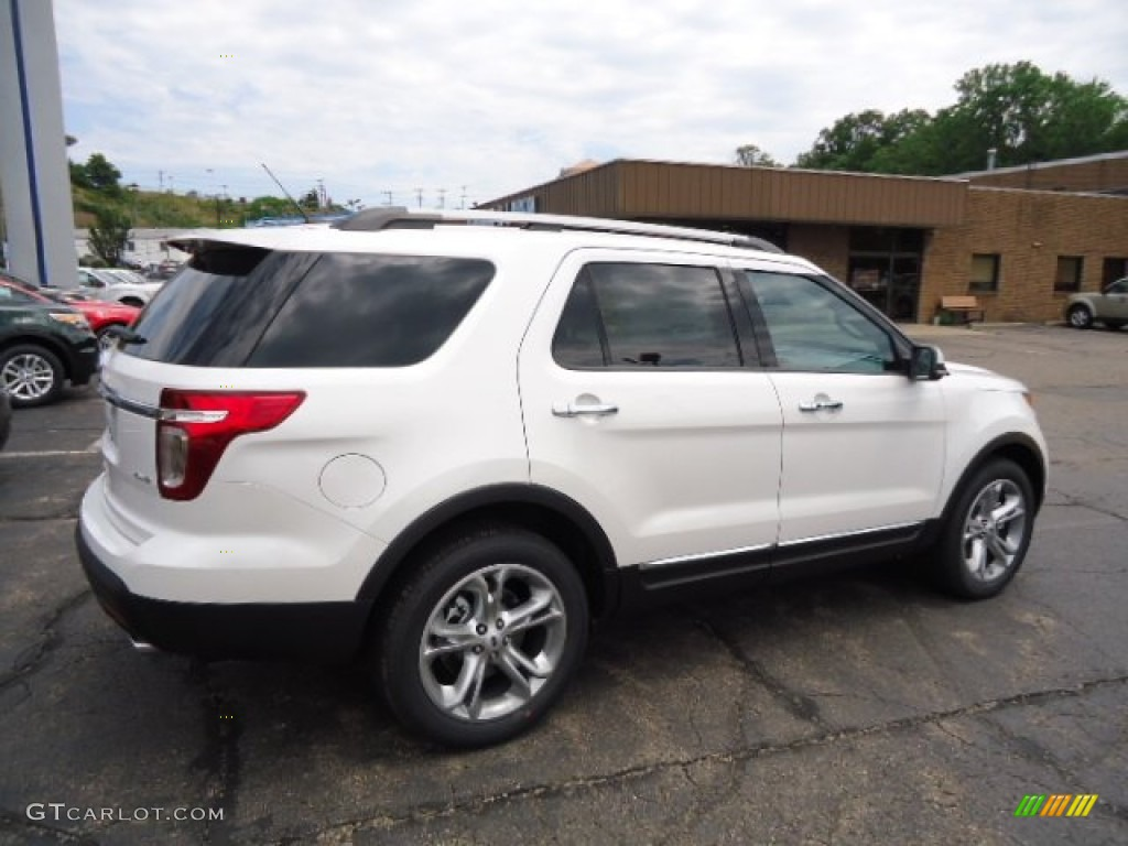 white platinum tri coat 2013 ford explorer limited 4wd exterior photo. Cars Review. Best American Auto & Cars Review