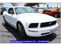 2007 Performance White Ford Mustang V6 Premium Coupe  photo #8
