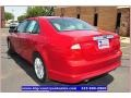 2011 Red Candy Metallic Ford Fusion SEL V6  photo #3