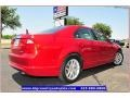 2011 Red Candy Metallic Ford Fusion SEL V6  photo #8