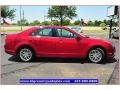 2011 Red Candy Metallic Ford Fusion SEL V6  photo #9