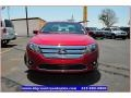 2011 Red Candy Metallic Ford Fusion SEL V6  photo #12