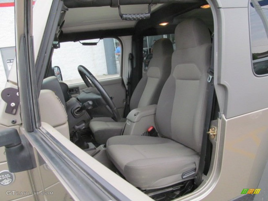 2005 light khaki metallic jeep wrangler unlimited rubicon - Jeep wrangler unlimited interior lights ...