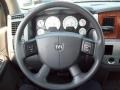 Medium Slate Gray Steering Wheel Photo for 2008 Dodge Ram 3500 #67859731