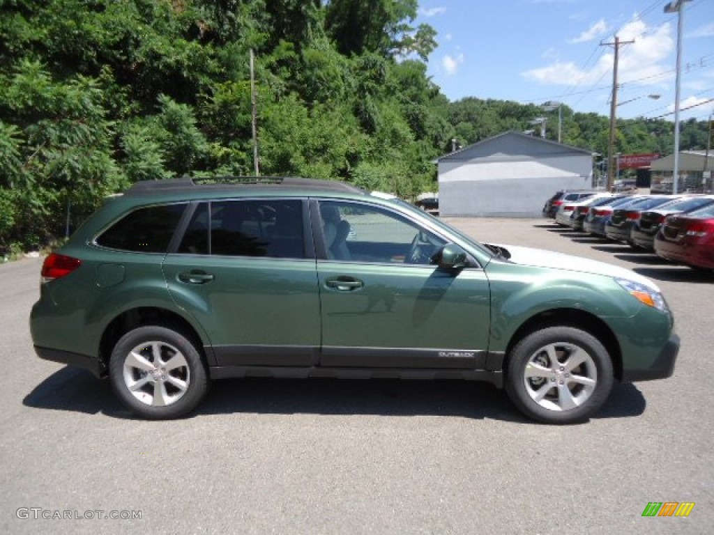 2013 cypress green pearl subaru outback 36r limited 67845296 2013 outback 36r limited cypress green pearl warm ivory leather photo 4 vanachro Gallery