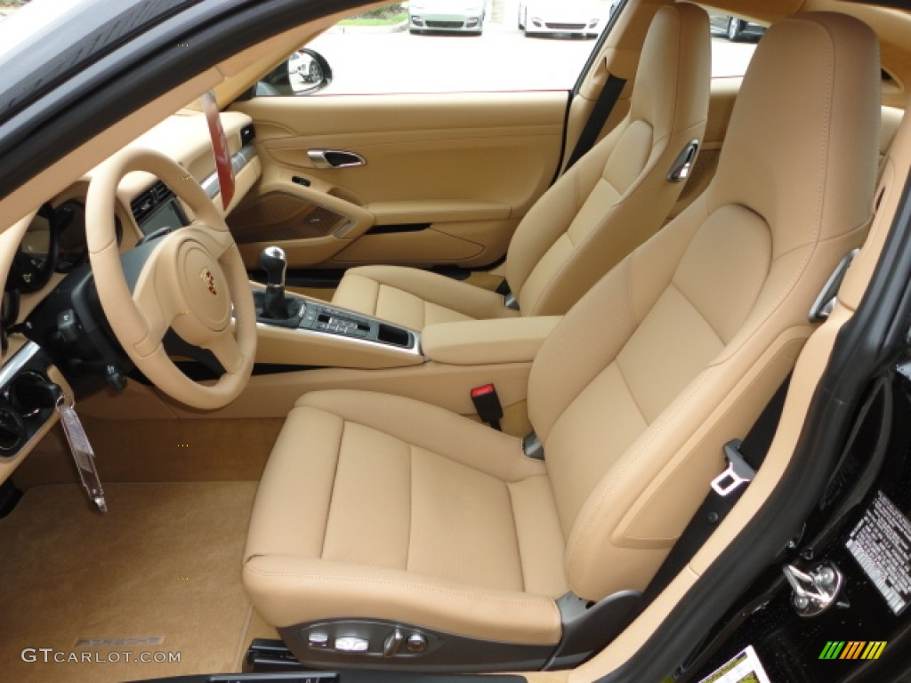 Luxor Beige Interior 2013 Porsche 911 Carrera Coupe Photo #67870080 ...