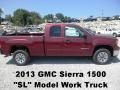 Sonoma Red Metallic 2013 GMC Sierra 1500 SL Extended Cab