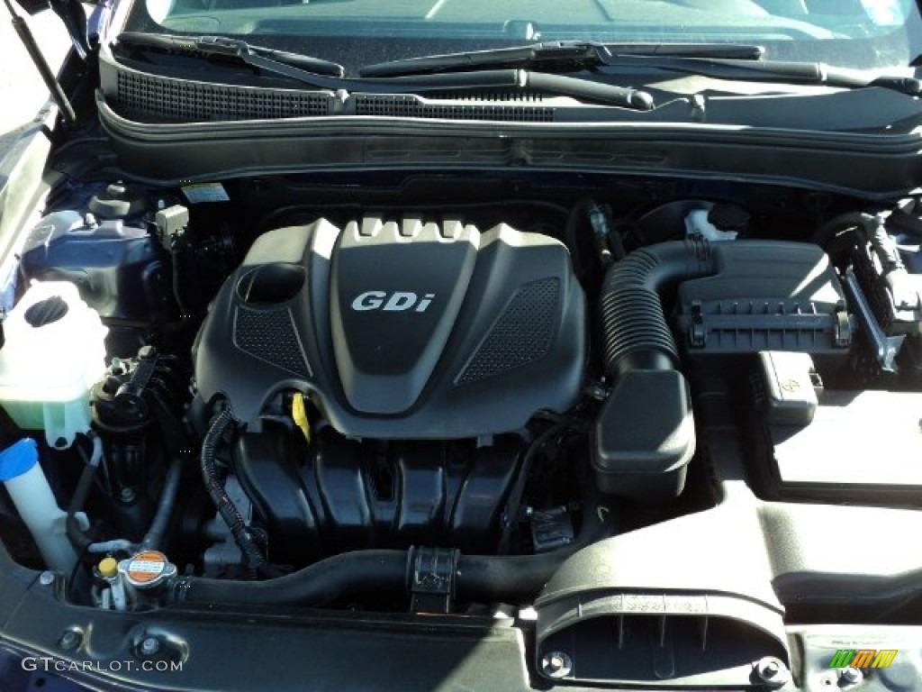 2012 Hyundai Sonata Gls 2 4 Liter Gdi Dohc 16 Valve D Cvvt