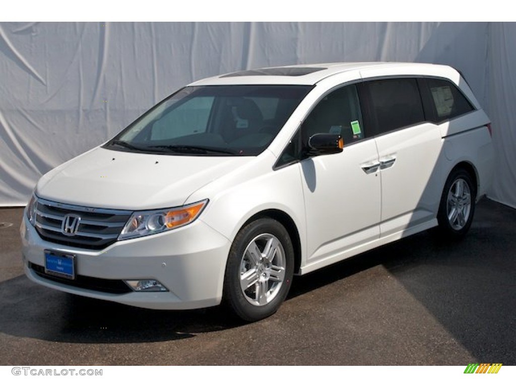 2012 white diamond pearl honda odyssey touring elite 67845409 photo 3 car. Black Bedroom Furniture Sets. Home Design Ideas