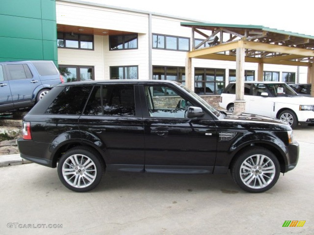 santorini black 2013 land rover range rover sport hse exterior photo 67894463. Black Bedroom Furniture Sets. Home Design Ideas