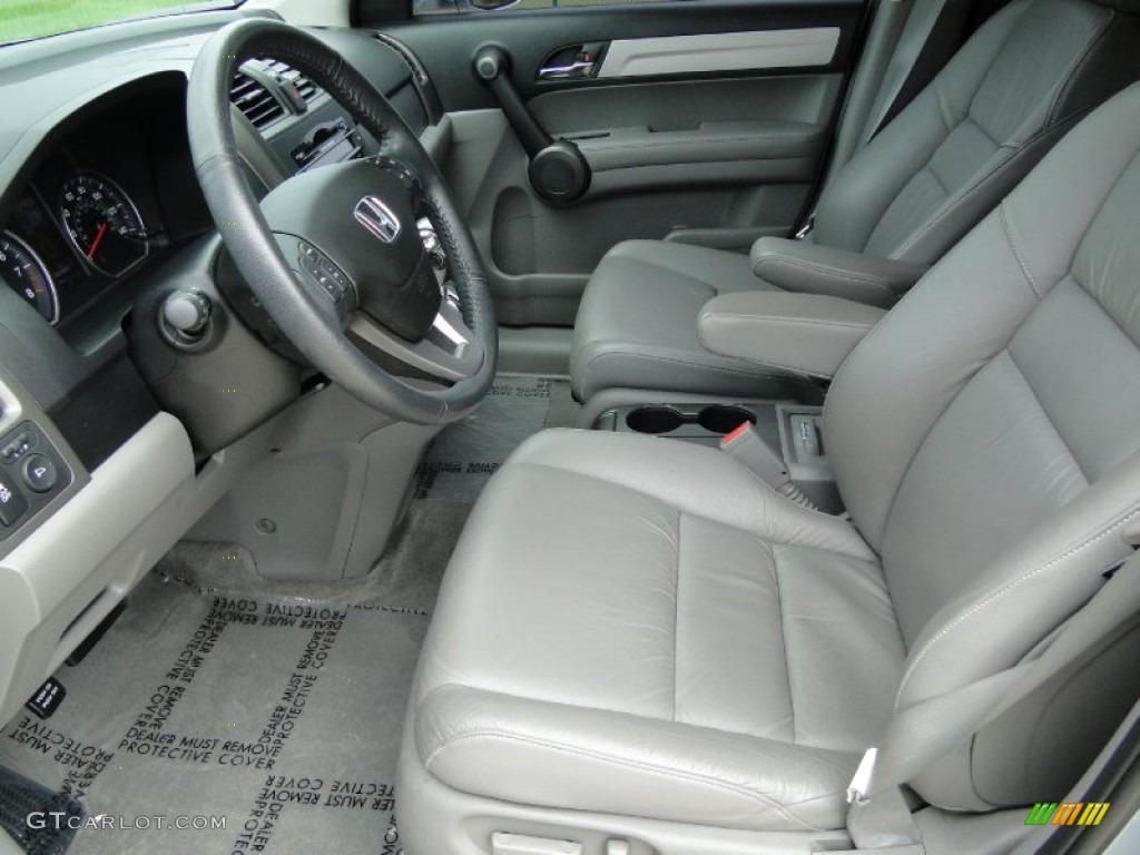 2011 CR-V EX-L 4WD - Glacier Blue Metallic / Gray photo #12