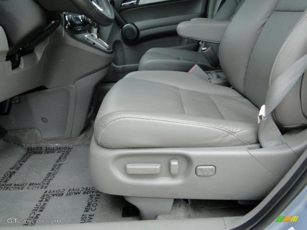 2011 CR-V EX-L 4WD - Glacier Blue Metallic / Gray photo #13