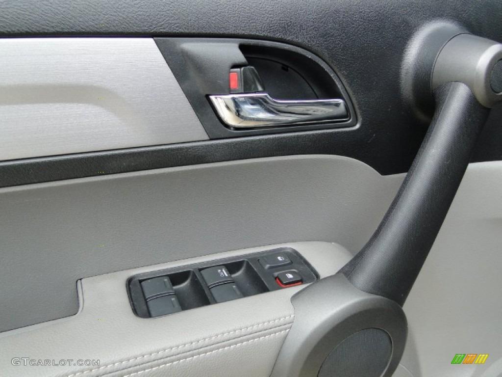 2011 CR-V EX-L 4WD - Glacier Blue Metallic / Gray photo #14
