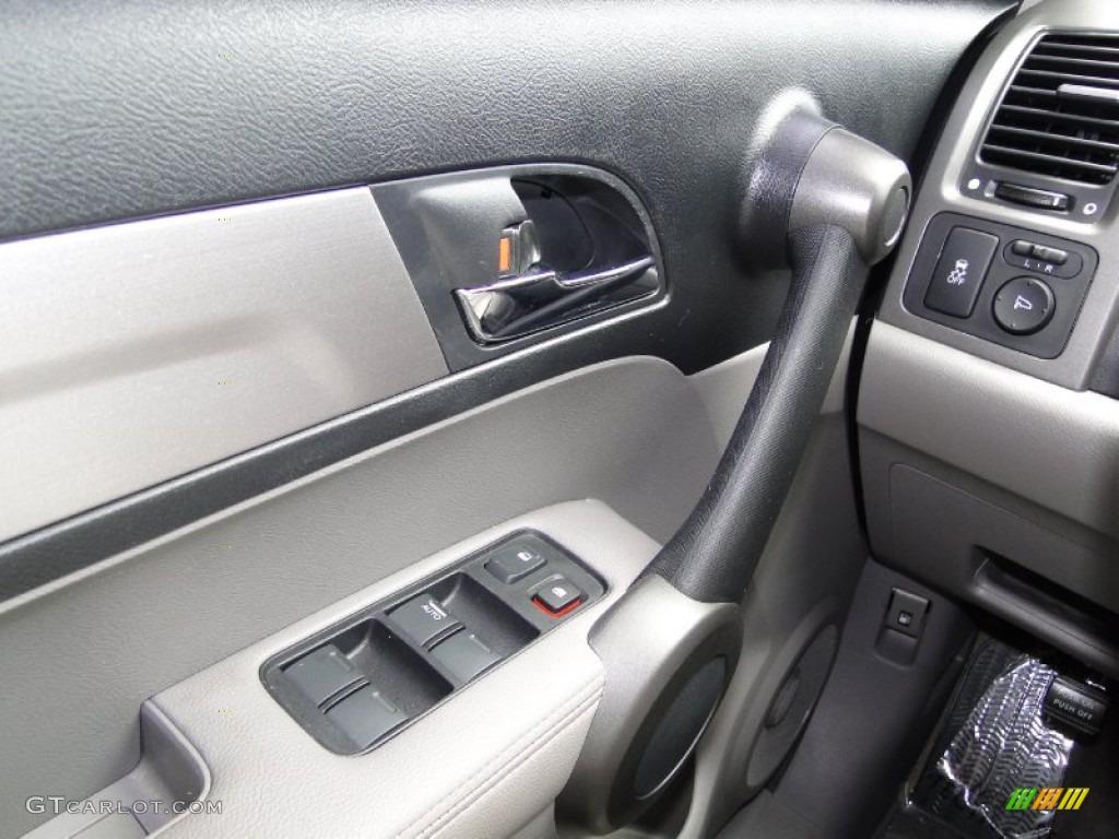 2011 CR-V EX-L 4WD - Glacier Blue Metallic / Gray photo #15