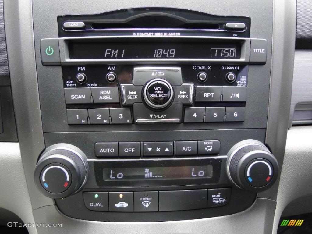 2011 CR-V EX-L 4WD - Glacier Blue Metallic / Gray photo #20