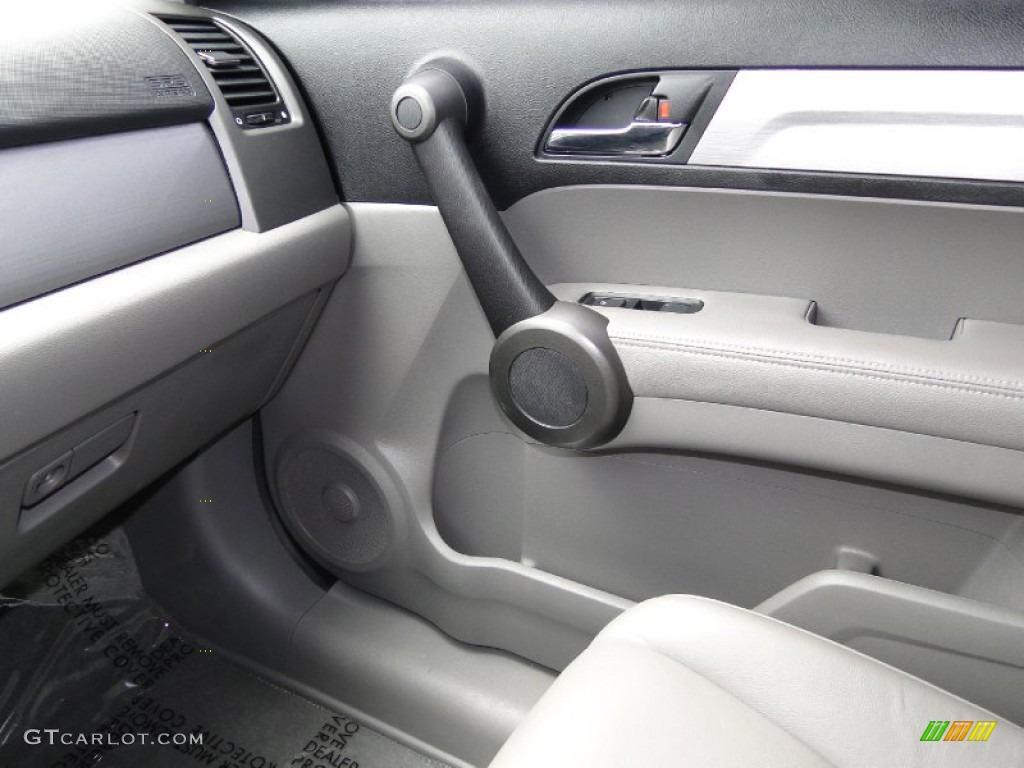 2011 CR-V EX-L 4WD - Glacier Blue Metallic / Gray photo #22